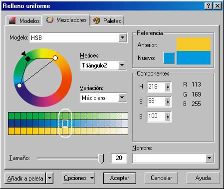 colores armónicos - seleccion_corel